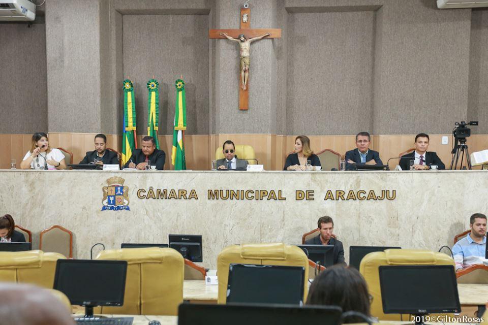 #PraTodoMundoVer Plenário da Câmara Municipal de Aracaju