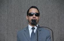 Vereador Lucas Aribé na Tribuna da Câmara Municipal de Aracaju