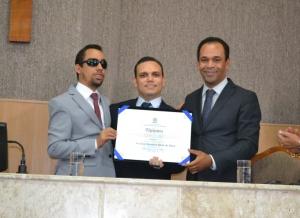 Foto - Título de Cidadão Aracajuano de Fredson Navarro