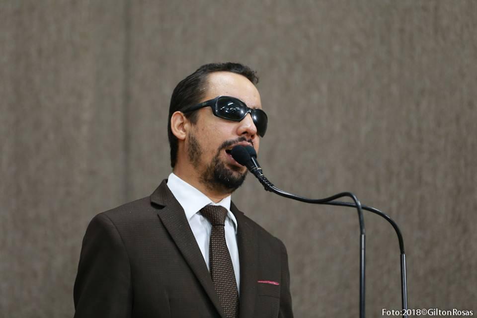 #PraTodoMundoVer: O vereador Lucas Aribé está utilizando a tribuna da Câmara para se pronunciar