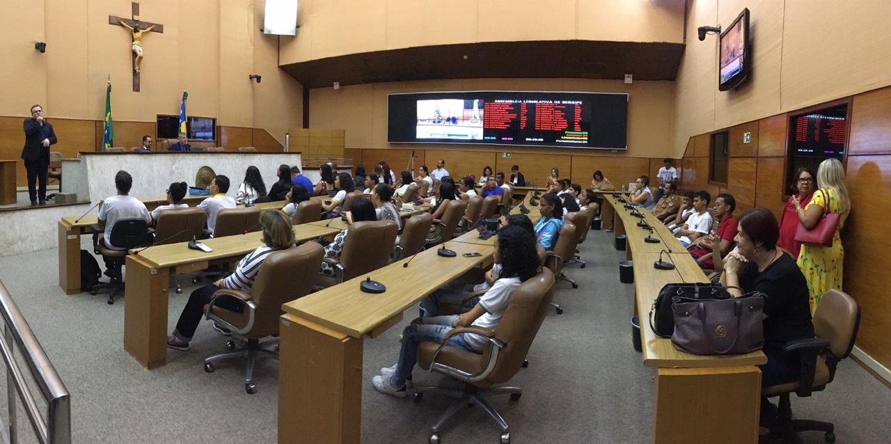 #PraTodoMundoVer Plenário da Assembleia Legislativa de Sergipe